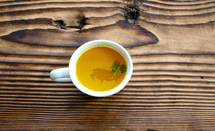 Turmeric and ginger syrup