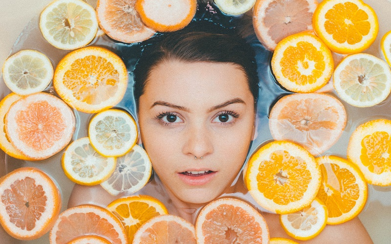 best beauty tricks with orange