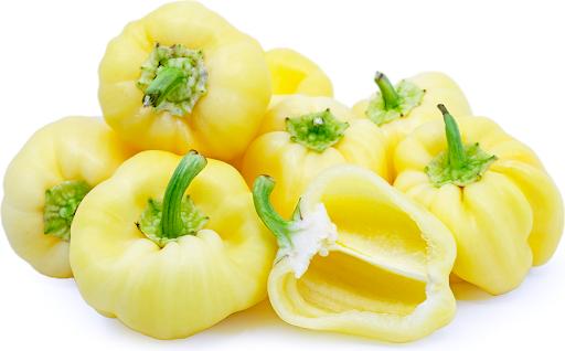 white bell pepper