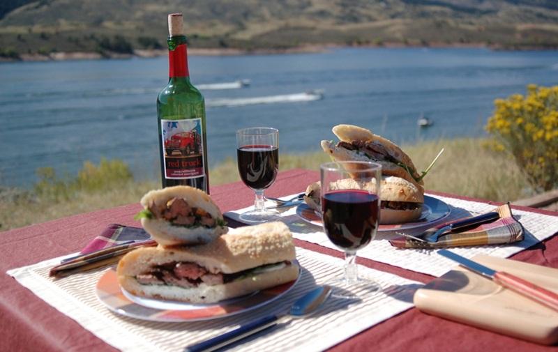 the romantic picnic